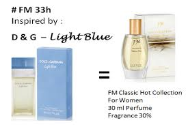 persamaan FM 33h D & G light blue