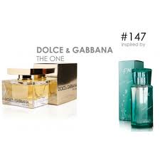 parfum FM 147 dan dolce gabanna the one